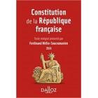 Constitution de la République française (2018 - 15e éd)