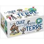 Boîtes Quiz - La planète Terre