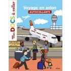 Voyage en avion (Mes docs à coller)