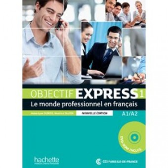 Objectif Express 1 (N/E) - Livre de l'élève + DVD-Rom