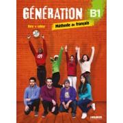 Génération B1 - Livre + Cahier + CD MP3 + DVD