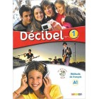 Décibel 1 (A1) - Livre + CD mp3 + DVD