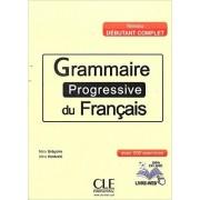 Grammaire progressive du français (Niveau débutant complet) - Livre + CD audio